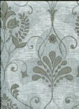 Home Wallpaper Andalusia Damask 2614-21039 By Beacon House For Brewster Fine Decor